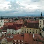 Blick über Hermannstadt / Sibiu