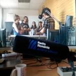 "Besuch von ""Antena Sibiului"""
